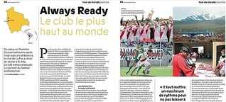 Always Ready, le club le plus haut au monde