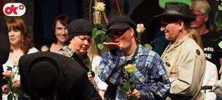 Falkenburger Dorfmusikanten: Das Publikum verneigt sich