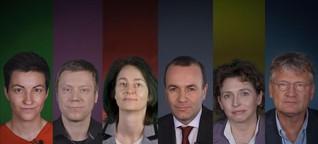 """Europawahl: """"Es gibt die falschen Einwanderer in Europa"""""""