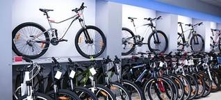 Fahrradsupermärkte - alles unter einem Dach