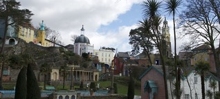 "Portmeirion in Wales und die Kultserie ""The Prisoner"" 