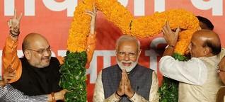 Modi siegt in der größten Demokratie der Welt