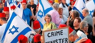 Massenproteste gegen Benjamin Netanjahu