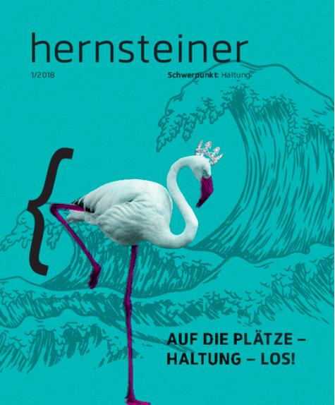 hernsteiner (Kundenmagazin) 1-2018