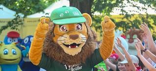 90 Jahre Bärenburg und Kindertag im Zoo Leipzig - LVZ - Leipziger Volkszeitung