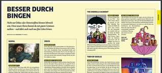 Besser durch Bingen (Seite 1+2) - lehrreiche Serien | YAEZ #98