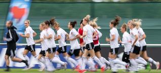 Medien ignorieren Fußball, wenn Frauen spielen
