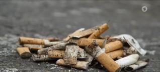 Aufreger: Zigaretten-Pfand