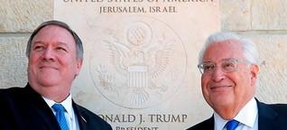 USA haben die Nahost-Zweistaatenlösung ad acta gelegt