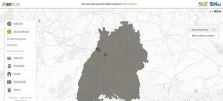 BW Atlas - Daten aus Baden-Württemberg