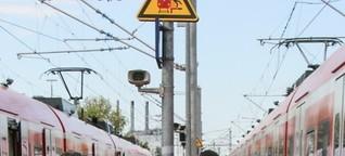 Gefährlicher Bahnsteig