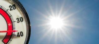 Das geheime Leben des Körpers in der Hitzewelle