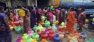 Indien wartet auf den Monsun