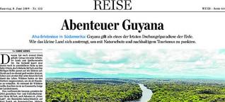Abenteuer Guyana
