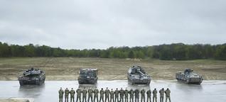 Panzer ohne Antrieb