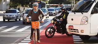 Na Alemanha, ciclistas não são tratados como extraterrestres