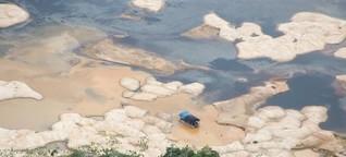 Goldrausch in indigenen Schutzgebieten in Brasilien