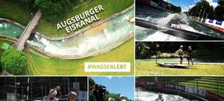 #wasserlebt: Der Augsburger Eiskanal - bald Weltkulturerbe?