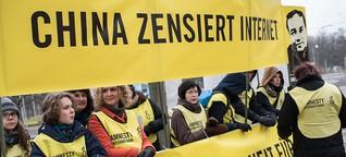 Zensur in China: Kein Zugriff auf deutsche Medien