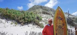 Der Mann, der das Surfen in den Norden brachte