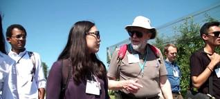 Science Walk: Studierende wandern mit Nobelpreisträger in Lindau