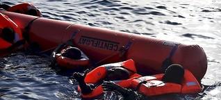 Das größte Problem der EU sind die Toten im Mittelmeer