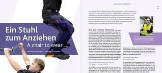 Exoskelette: Ein Stuhl zum Anziehen