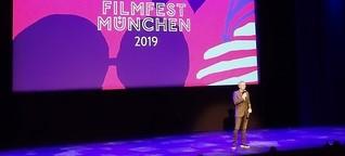 Moderation beim Filmfest München