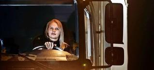 Ausbildung zur Lkw-Fahrerin: Das Mädchen hinterm Steuer