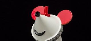 """Micky Maus serviert den Tee: Gegen die Grundsätze der """"guten Form"""""""