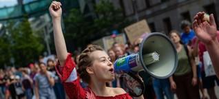 Fridays for Future ungebrochen in Aktion: Wieder Tausende auf der Straße