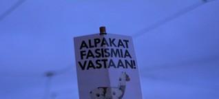 Marsch der nordischen Nazis