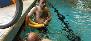 Prävention: Flüchtlinge lernen schwimmen
