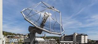 Kein Aprilscherz: ETH Zürich schafft aus Luft und Sonnenlicht Treibstoff - klimaneutral