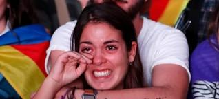 Kataloniens Unabhängigkeit im Schwebezustand (2017)