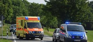 VW-Fahrer gesucht! Er provozierte mit waghalsiger Aktion einen schweren Unfall in Thüringen
