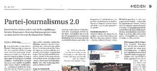 Partei-Journalismus 2.0