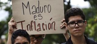 Krisenstaat: 5 Zahlen über Venezuela
