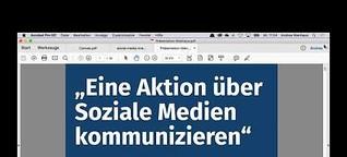 """Webinar """"Eine Veranstaltung oder Aktion über Soziale Medien kommunizieren"""" Stifter-helfen.de"""