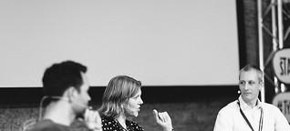 Typo Berlin 2016: Indra Kupferschmid, Andrea Nienhaus, Jan Kaestner, Hannes von Döhren: Schriftlizenzen – zwischen nützlich und nervig