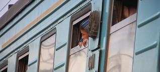 Im Bann der Bahn durch Kasachstan