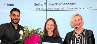 STANDARD-Redakteurin Selina Thaler mit Silver-Living-Nachwuchspreis ausgezeichnet