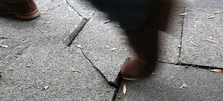 Der steinige Weg vor Gericht: Gehwege als Stolperfallen