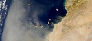 Gefährlicher Staub aus der Sahara