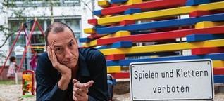 """Kreuzberg-Bewohner über ein Kunstwerk: """"Klettern verboten: Das ist absurd"""""""