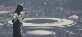 VJ-Report (3:30min): The center of Rio's pride in disrepair | Deutsche Welle 03.02.2017