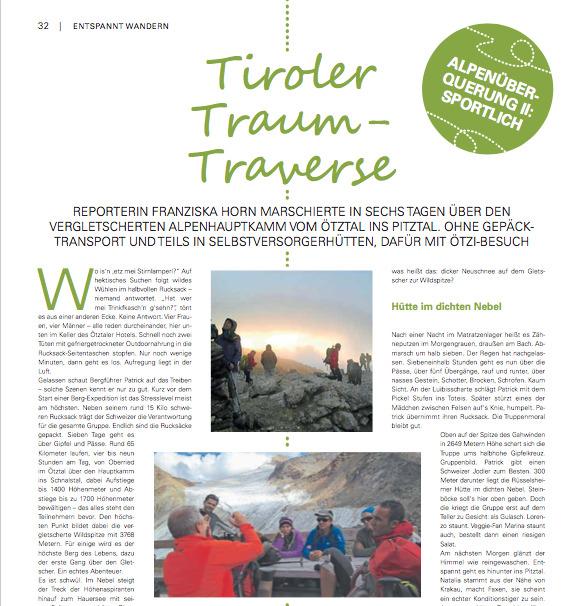 Tiroler Traum-Traverse