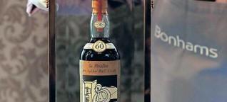 Eine Million für eine Flasche Whisky