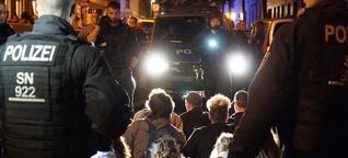 Polizeieinsatz in Leipzig: Fast wie beim G20-Gipfel
