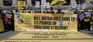 Hongkonger in London - Oft Staatsbürger zweiter Klasse